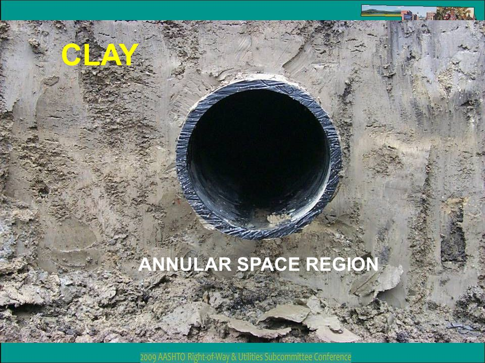 CLAY ANNULAR SPACE REGION