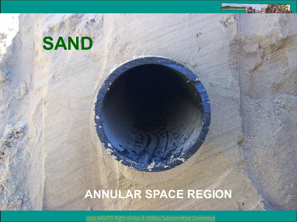 SAND ANNULAR SPACE REGION