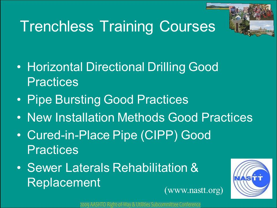 Trenchless Training Courses