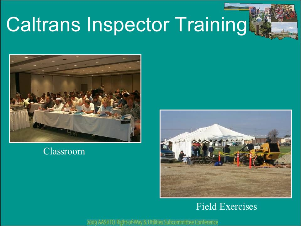 Caltrans Inspector Training