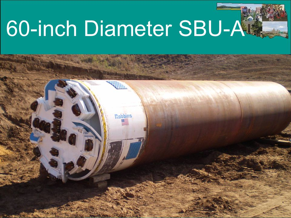 60-inch Diameter SBU-A Notes to Instructor: (Slide #50) 60 inch diameter SBU-A.