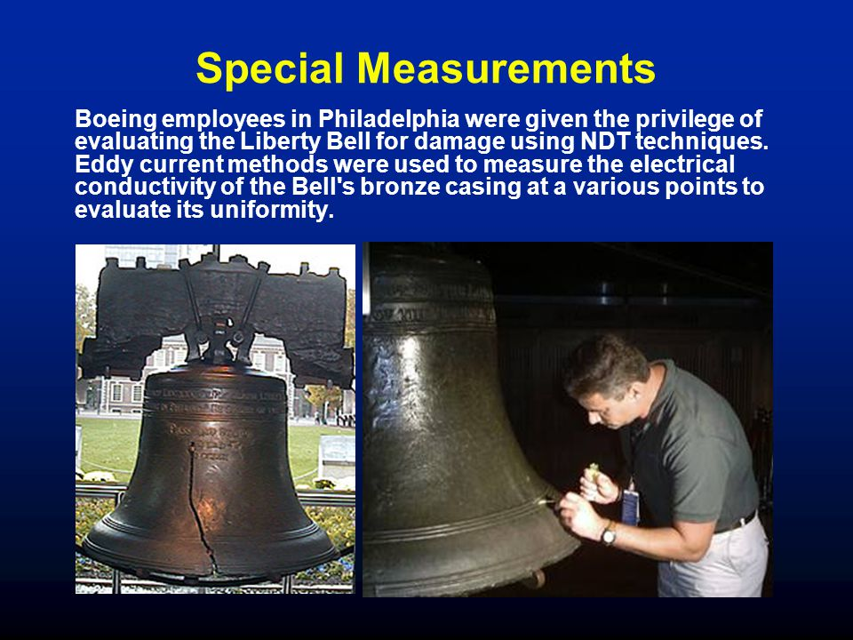 Special Measurements