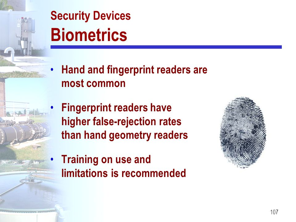 Security Devices Biometrics