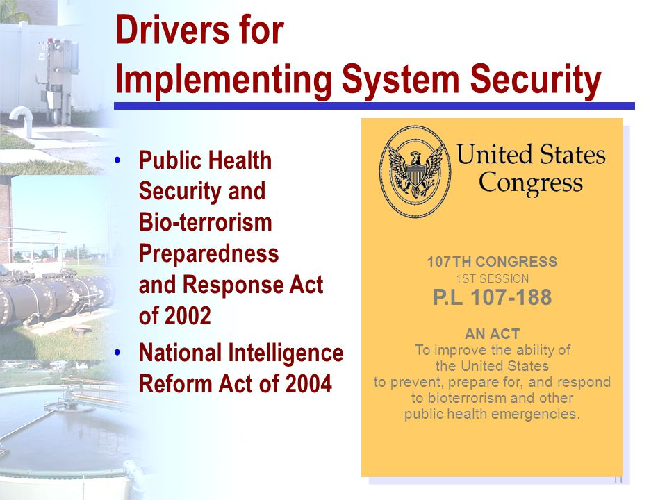 Drivers for Implementing System Security