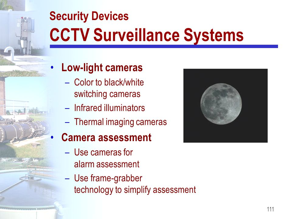 Security Devices CCTV Surveillance Systems