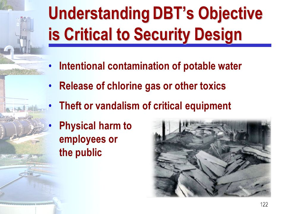 Understanding DBT's Objective is Critical to Security Design