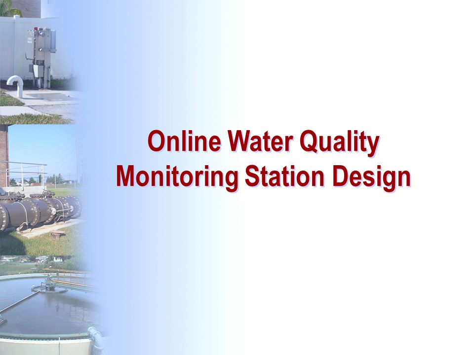 Online Water Quality Monitoring Station Design