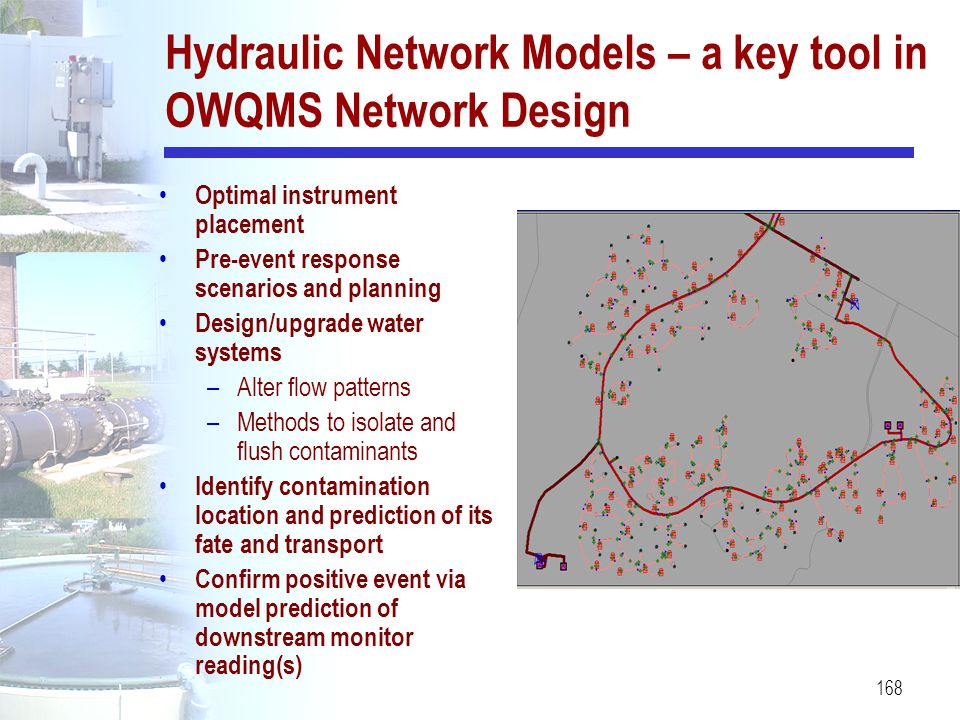 Hydraulic Network Models – a key tool in OWQMS Network Design