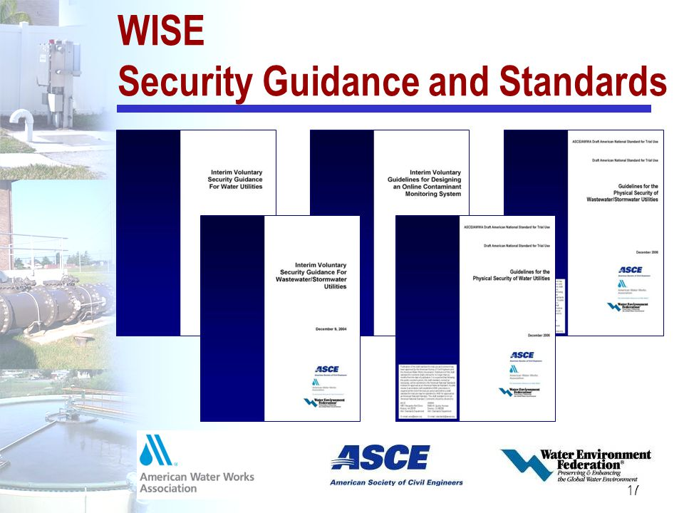 WISE Security Guidance and Standards
