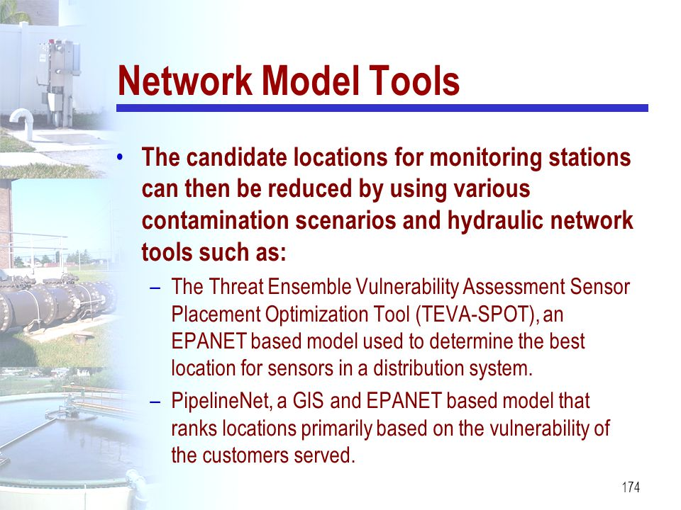 Network Model Tools