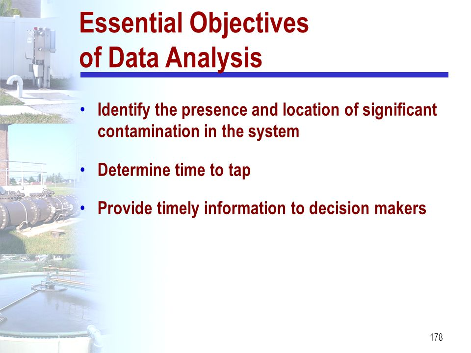 Essential Objectives of Data Analysis