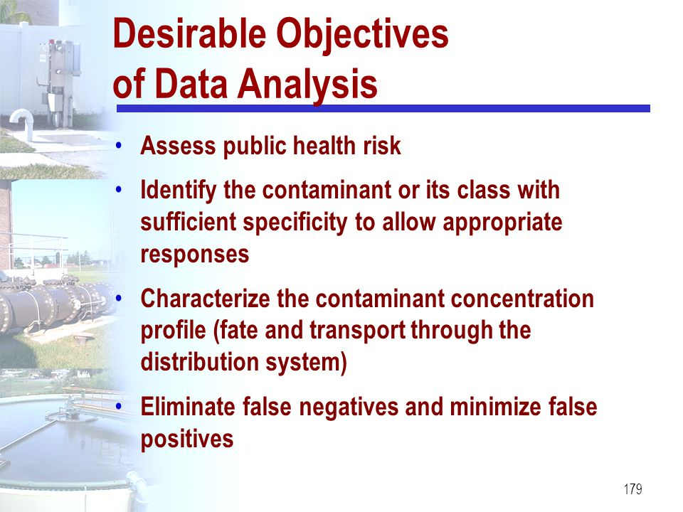 Desirable Objectives of Data Analysis