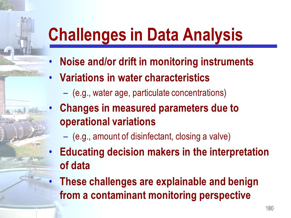 Challenges in Data Analysis