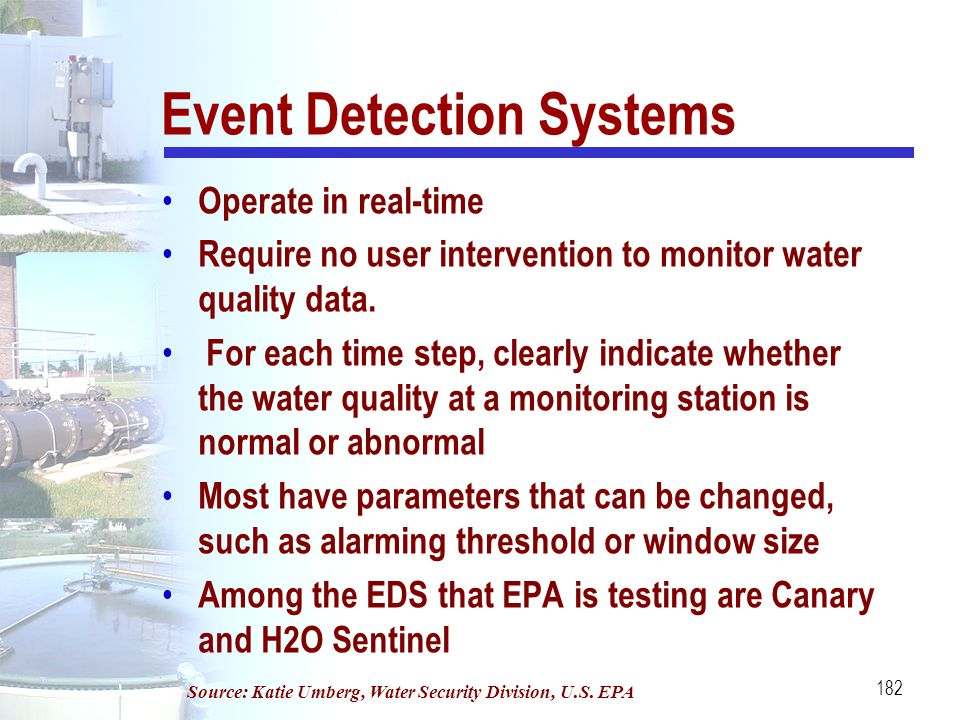 Event Detection Systems