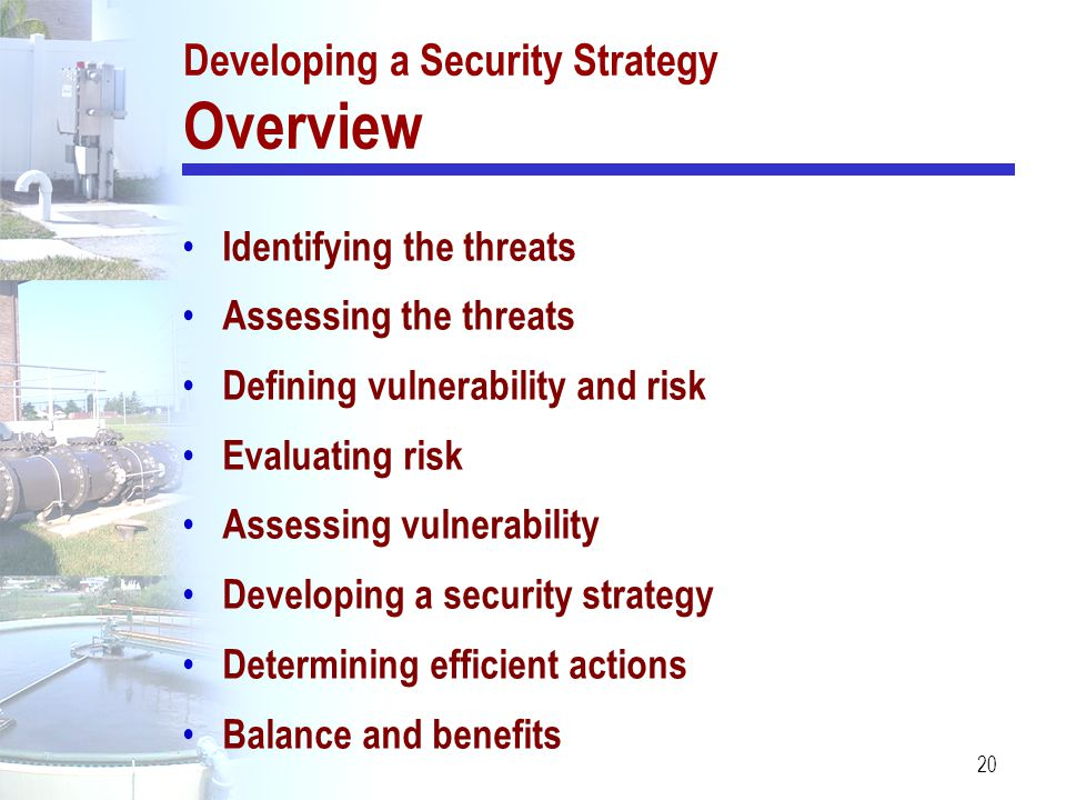 Developing a Security Strategy Overview