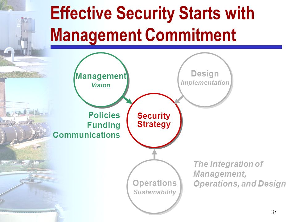 Effective Security Starts with Management Commitment