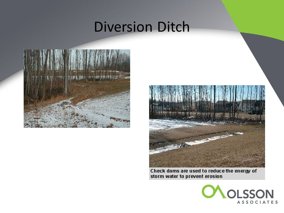 Diversion Ditch