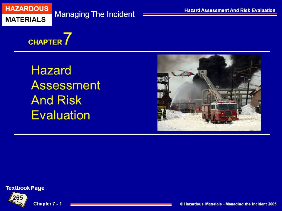 Hazard Assessment And Risk Evaluation