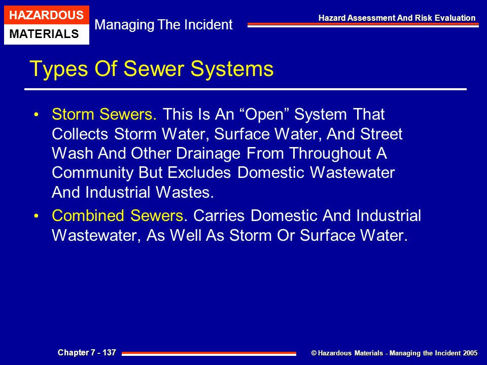 Types Of Sewer Systems