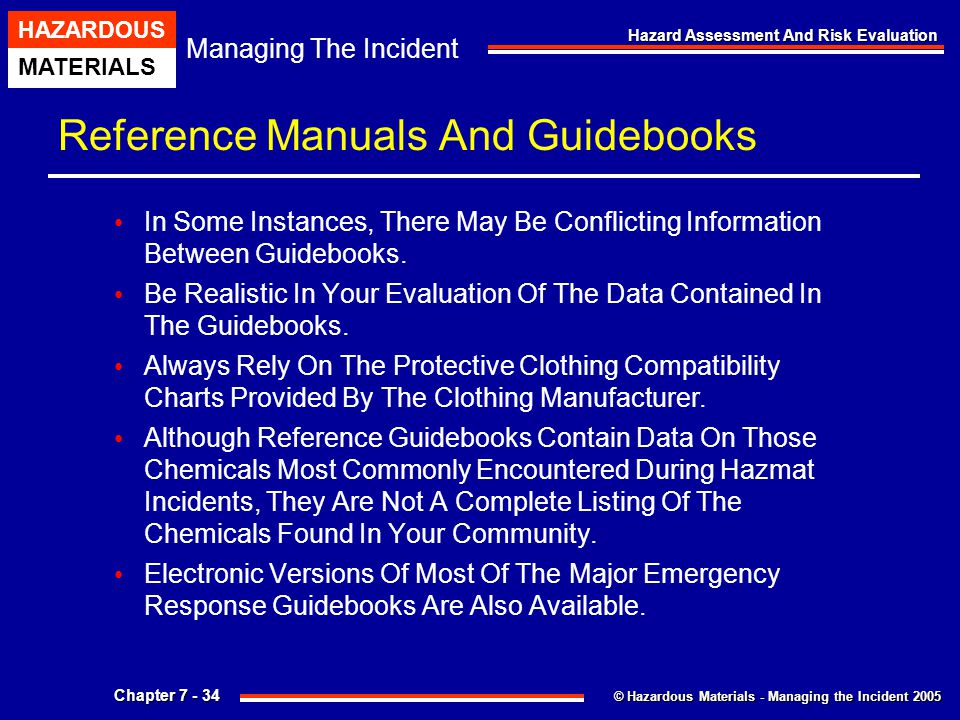 Reference Manuals And Guidebooks