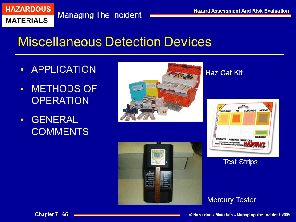 Miscellaneous Detection Devices