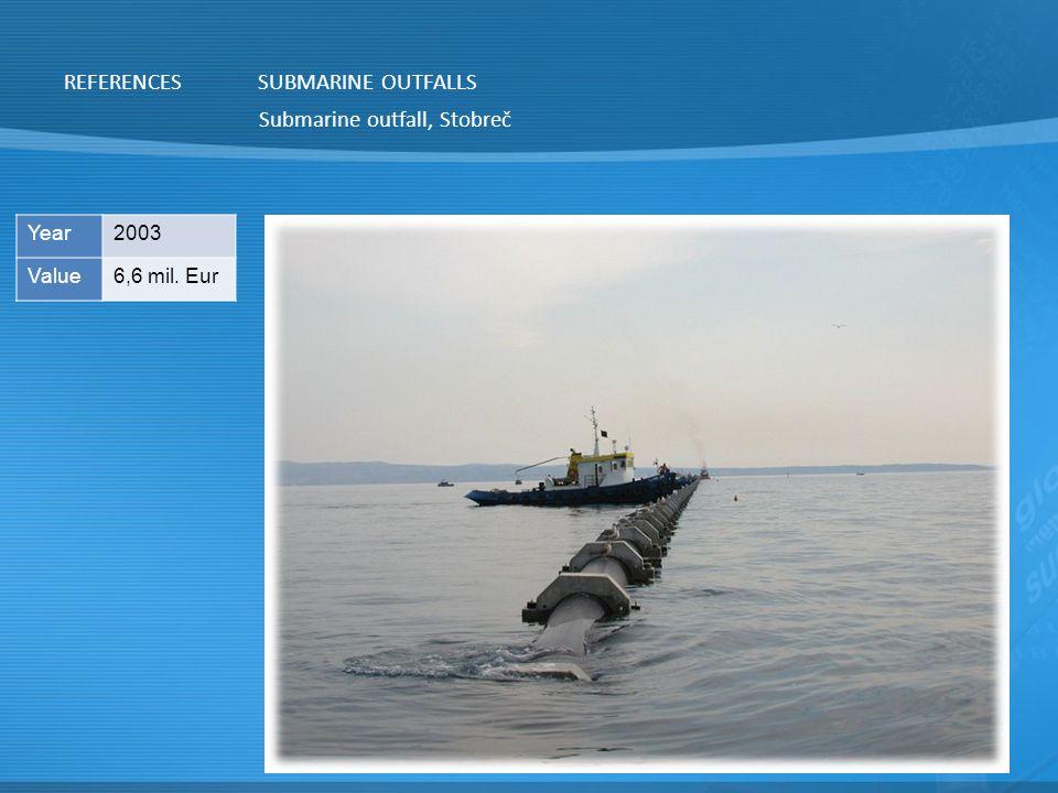 Submarine outfall, Stobreč SUBMARINE OUTFALLS