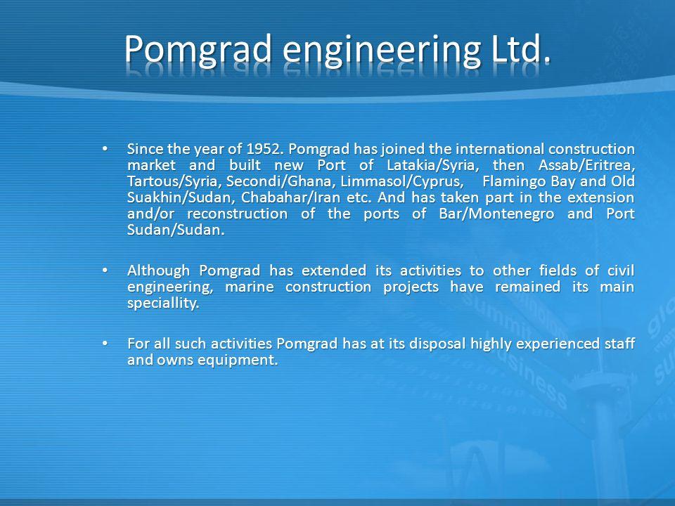 Pomgrad engineering Ltd.