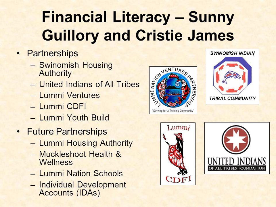 Financial Literacy – Sunny Guillory and Cristie James