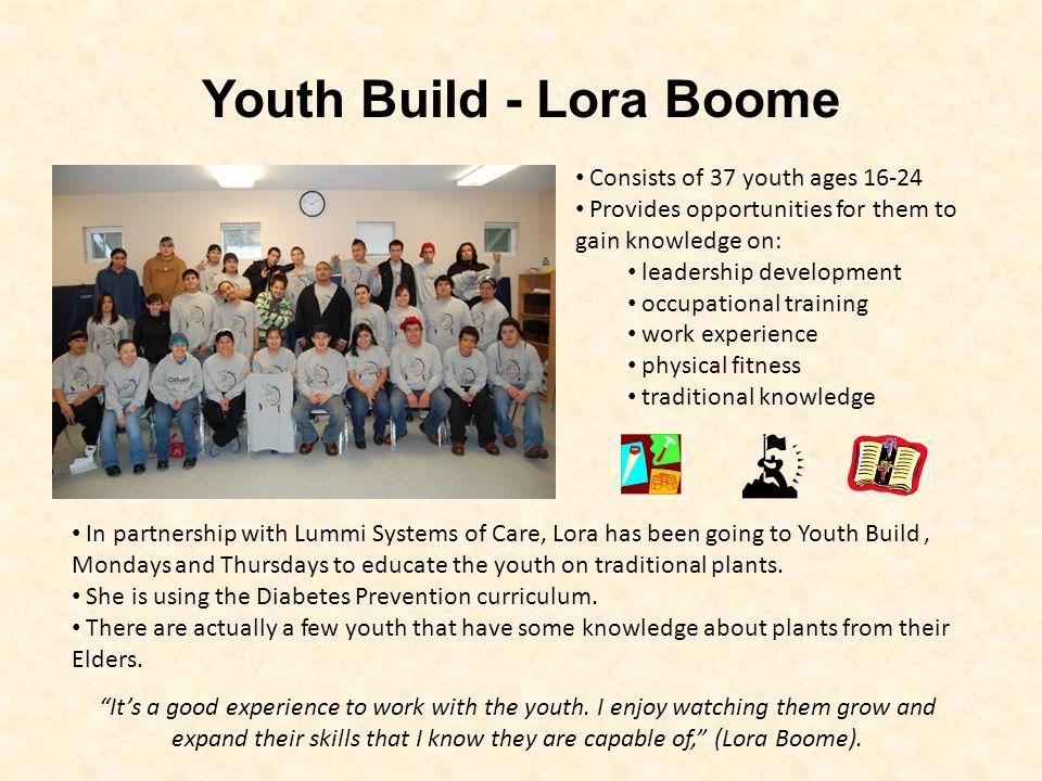 Youth Build - Lora Boome