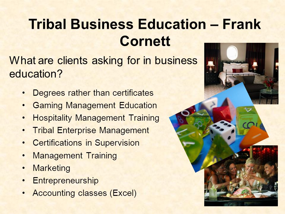 What are clients asking for in business education