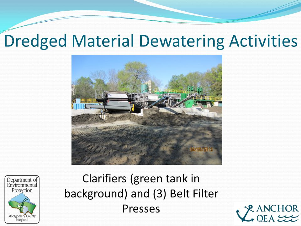Dredged Material Dewatering Activities