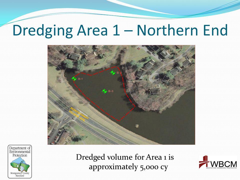 Dredging Area 1 – Northern End