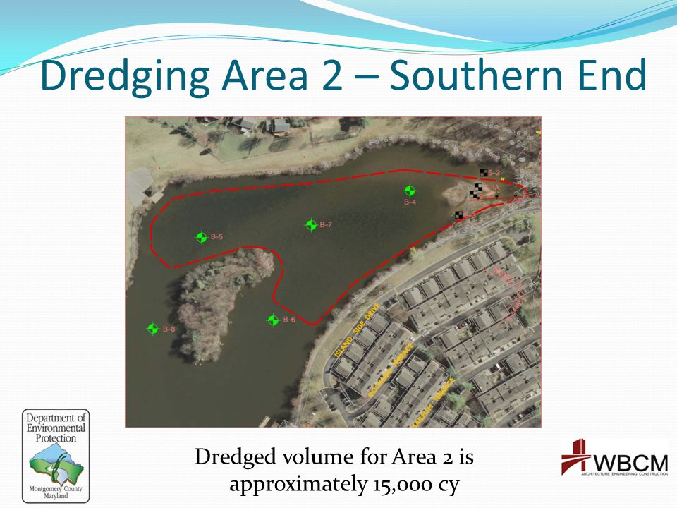 Dredging Area 2 – Southern End