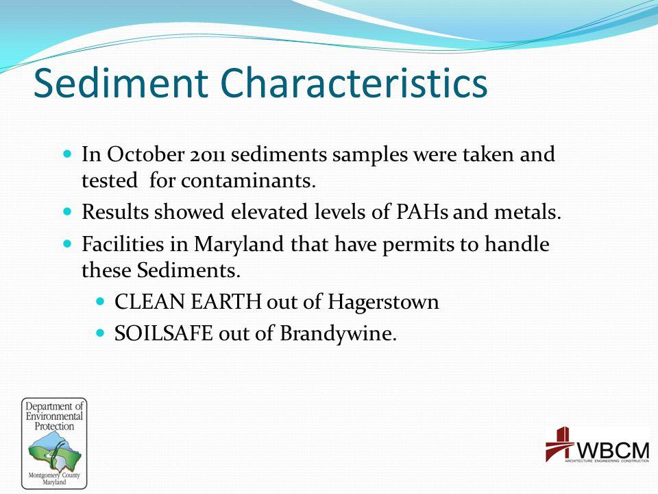 Sediment Characteristics