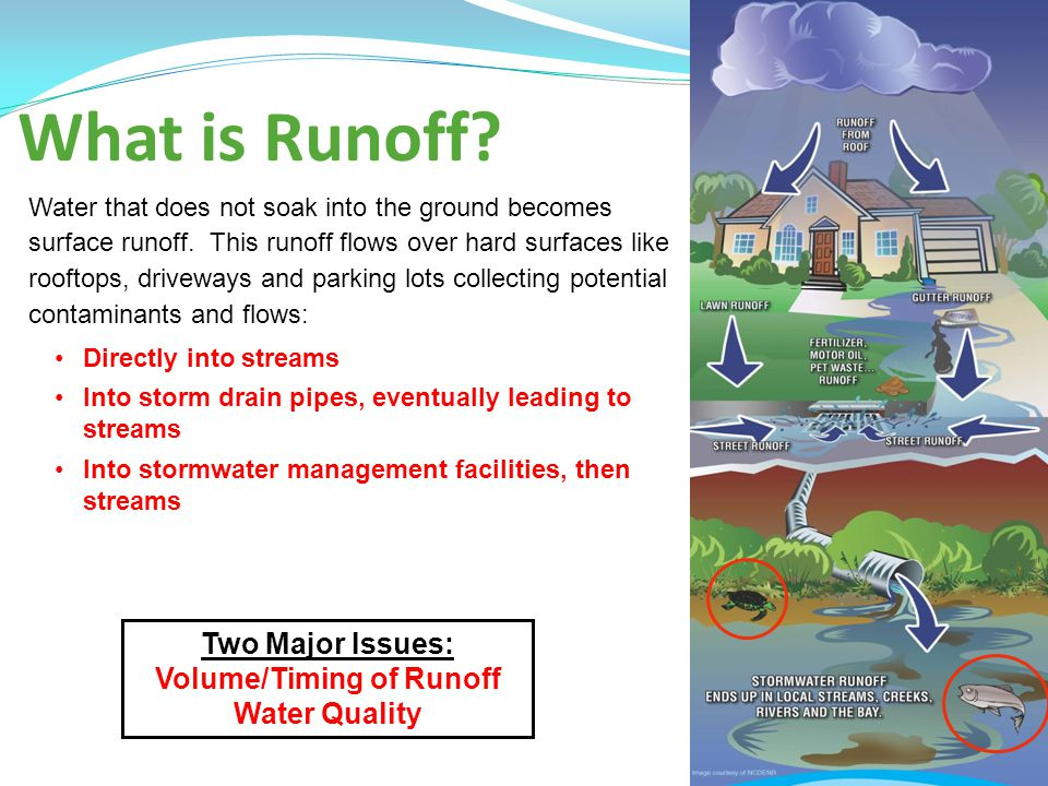 Volume/Timing of Runoff