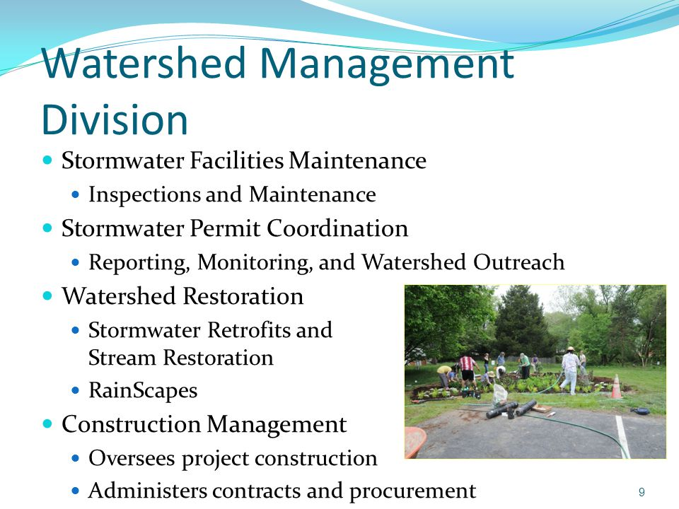 Watershed Management Division