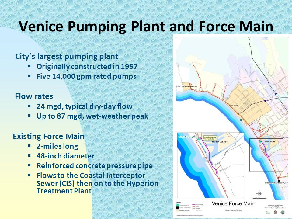 Venice Pumping Plant and Force Main