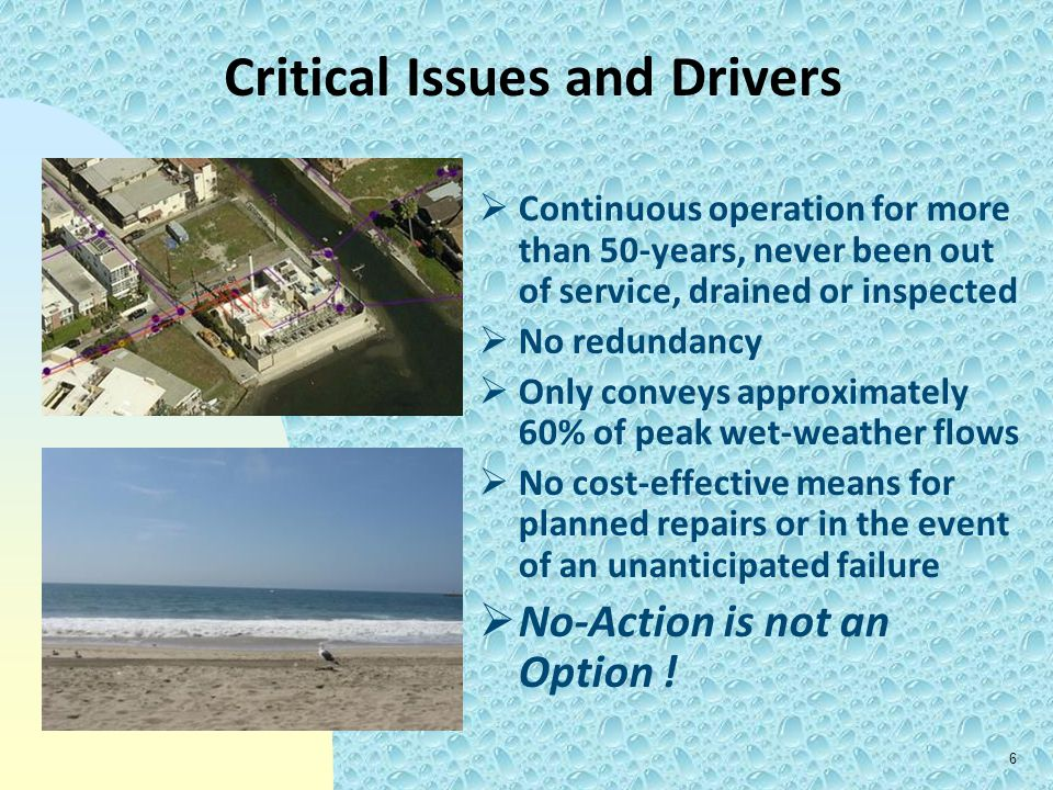 Critical Issues and Drivers