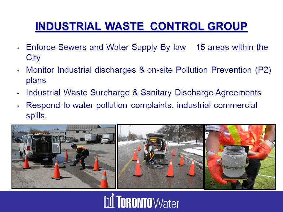INDUSTRIAL WASTE CONTROL GROUP