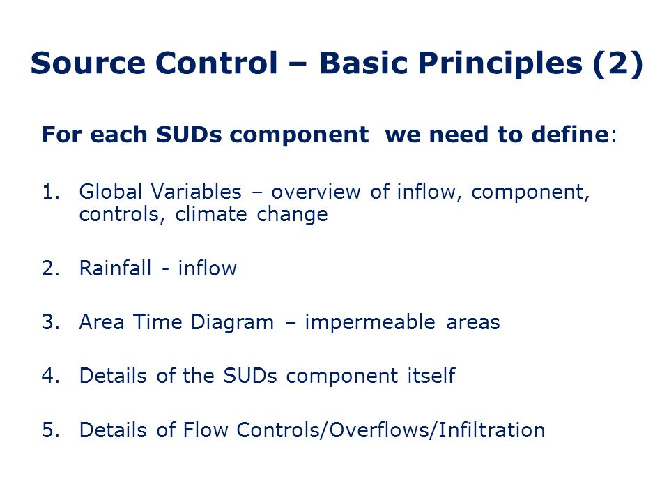 Source Control – Basic Principles (2)