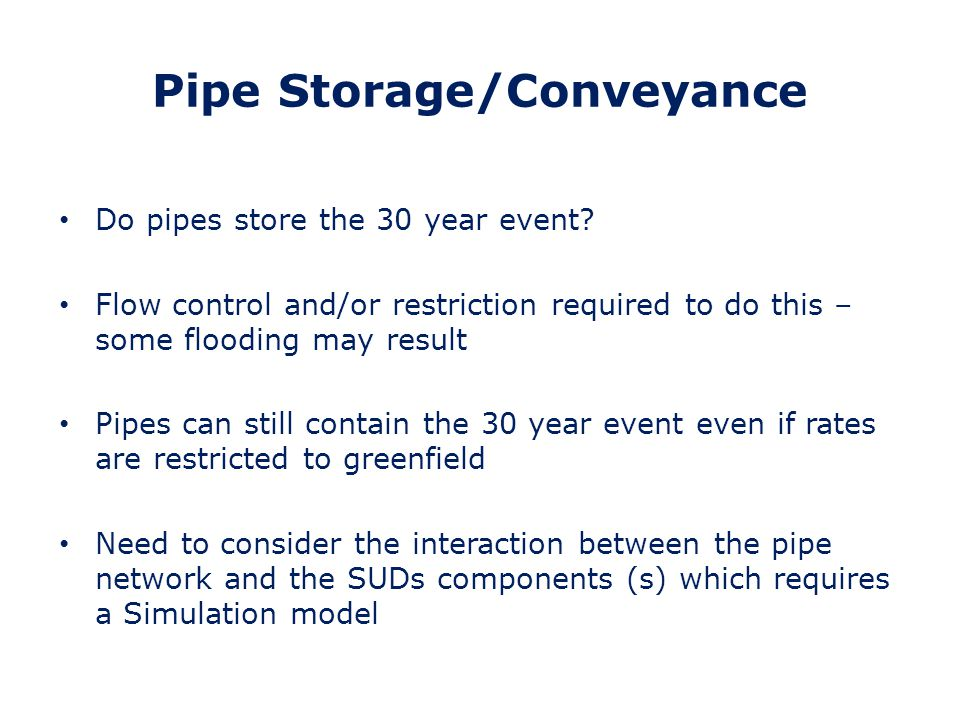 Pipe Storage/Conveyance
