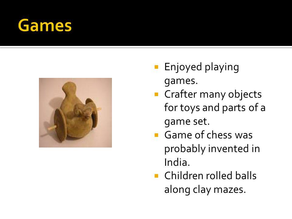 Games Enjoyed playing games.