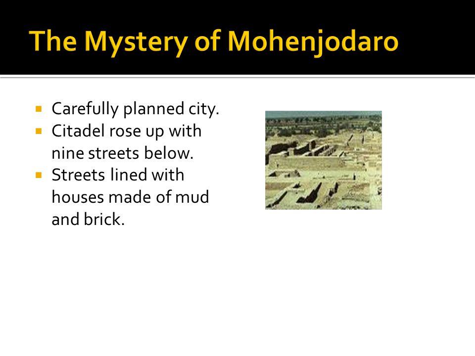 The Mystery of Mohenjodaro
