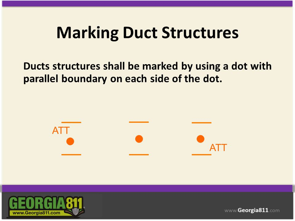 Marking Duct Structures