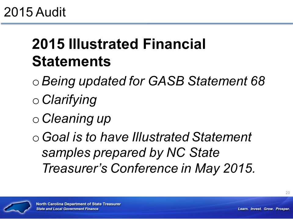 2015 Illustrated Financial Statements