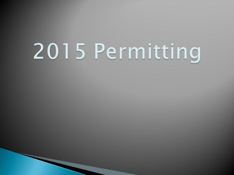 2015 Permitting