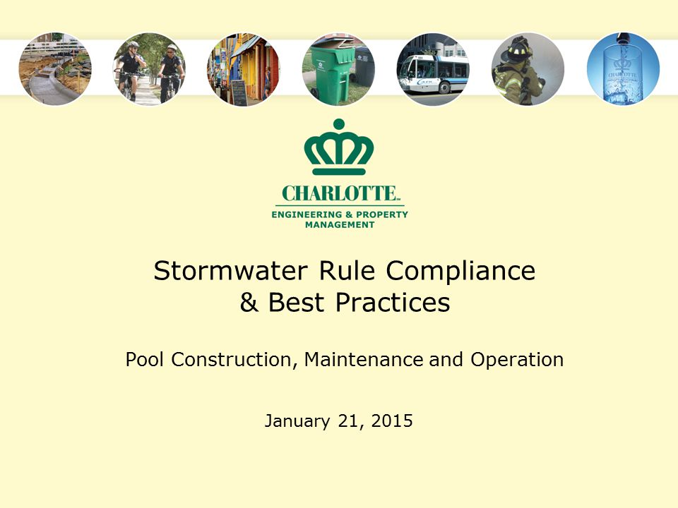 Stormwater Rule Compliance & Best Practices