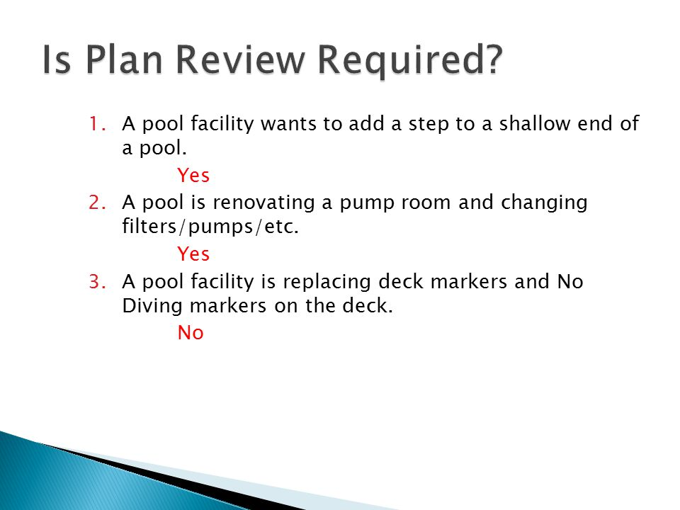 Is Plan Review Required