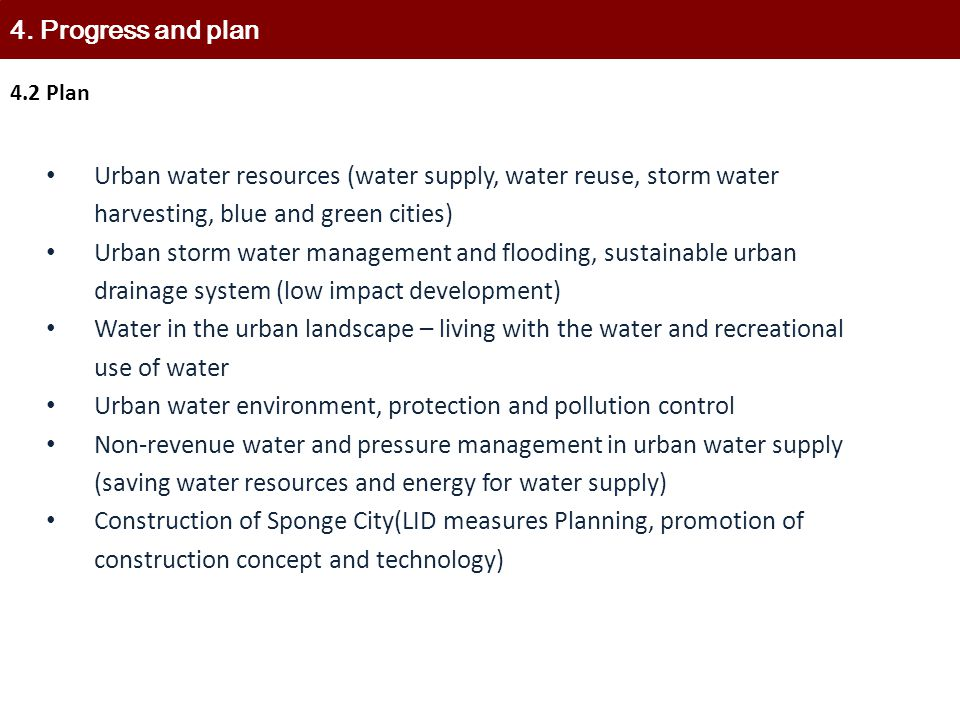 Urban water environment, protection and pollution control