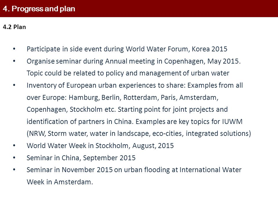 Participate in side event during World Water Forum, Korea 2015